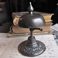 A desk bell is a great accessory for Wally's character. Description from pinterest.com. I searched for this on bing.com/images