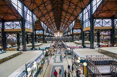 Der Große Markt in Budapest Ungarn - The Grand Market in Budapest Hungary