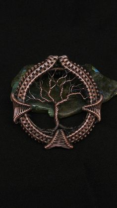 Copper diamond tree