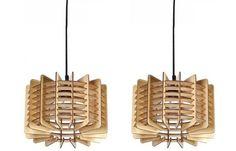 20 Beautiful Home Decors: Wooden Pendant Lights