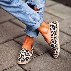 Nämä leoparditossut tuovat juuri sopivan ripauksen eläimellisyyttä asuun!