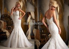 Wholesale 2013 New Arrivals Luxury Sweetheart Lace Embroidery Mermaid Wedding Gowns Bridal Dresses Sexy Chapel, Free shipping, $227.36-249.76/Piece | DHgate