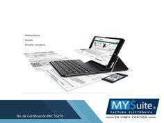https://flic.kr/p/WrRTKE | COMPROBANTE FISCAL DIGITAL. En MYSuite le hablamos de la validación del CFDI 3.3 - 1 | COMPROBANTE FISCAL DIGITAL. ¿Existen validadores de CFDI versión 3.3? El SAT ya no ofrece el servicio de validación de forma y sintaxis de las facturas, al considerarse que un CFDI certificado, cumple con las especificaciones técnicas del Anexo 20. En MYSuite, ofrecemos el Servicio de Recepción y validación de comprobantes; mediante el cual podrá tener la certeza de que cumplen…