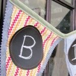Chalk cloth banner tutorial