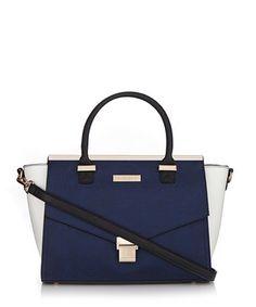 Esta navy lock flap shoulder bag Sale - Carvela Kurt Geiger Sale