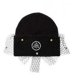 Silver Spoon Attire - Pearls beanie