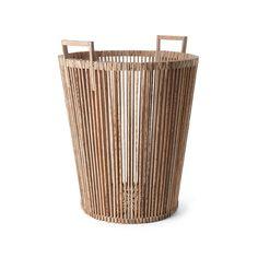 Fair Trade palmwood High basket: Piet Hein Eek