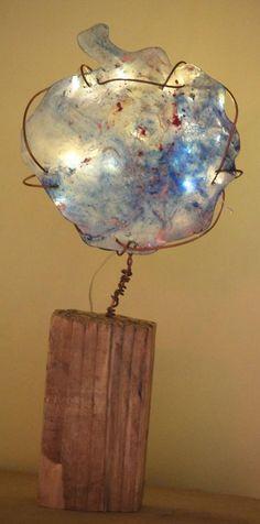 7 sculpture lumineuse lampe artistique originale pas chere. Black Bedroom Furniture Sets. Home Design Ideas