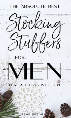 Amazing Stocking Stuffers for Men that Will Make Any Guy Excited - Gift Willow These stocking stuffers for men are perfect gift ideas for boyfriends, husbands, sons, brothers, and friends! Great Gifts For Boyfriend, Funny Gifts For Men, Best Gifts For Men, Gifts For Husband, Stocking Stuffers For Adults, Best Stocking Stuffers, Christmas Stocking Stuffers, Stocking Stuffers For Boyfriend, Sushi Set
