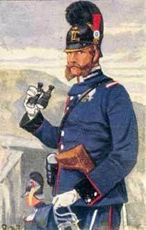 Bayerische Artillerie, Pioniere, Train und Landwehr