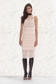 Again, crochet or just crochet-looking? But this is making me want to stitch up open-toe stockings. Ohne Titel Resort 2016