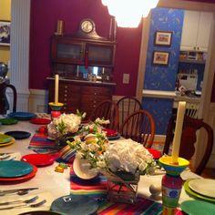 Cinco de Mayo theme for Supper Club