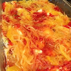 Spaghetti Squash Lasagna Bake - 21 Day Fix Approved
