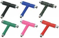 UNIT Skateboard Werkzeug T-Tool (verschied. Farben)