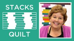 "Make the ""Stacks Quilt"" with Jenny Doan of Missouri Star (Video Tutorial)"" Jenny Doan Tutorials, Msqc Tutorials, Quilting Tutorials, Missouri Quilt Tutorials, Strip Quilts, Quilt Blocks, Patch Quilt, Jellyroll Quilts, Cute Quilts"