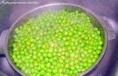 Αρακάς: συντήρηση στην κατάψυξη Beans, Vegetables, Food, Vegetable Recipes, Eten, Veggie Food, Prayers, Meals, Beans Recipes
