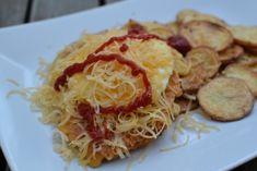 plumlovský řízek Spaghetti, Ethnic Recipes, Food, Essen, Meals, Yemek, Noodle, Eten