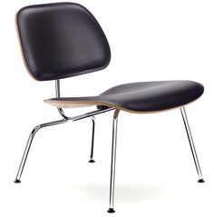 silla de diseño de Charles & Ray Eames LCM LEATHER VITRA HOME