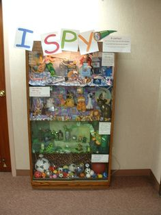 I Spy Display by Ada Community Library, via Flickr