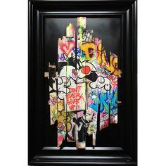 ONEMIZER - Wanted Banksy Graffiti Writing, Graffiti Artwork, Murals Street Art, Street Art Graffiti, Pop Art, Palette Art, Hakuna Matata, Abstract Expressionism, Oeuvre D'art