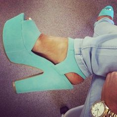 platform and a chunky heel...