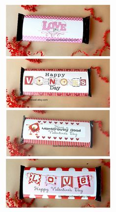 Valentine's Day chocolate the easy way. Wrap up a Hershey Bar, LARGE or regular sized with a Valentine Message! #ValentinesDay