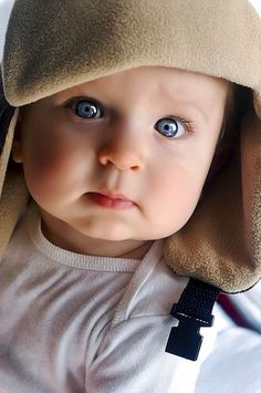 A cute baby with a beautiful eyes♥️