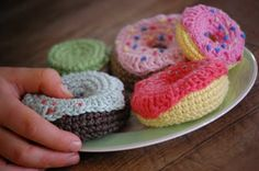 doughnuts, with link to pattern