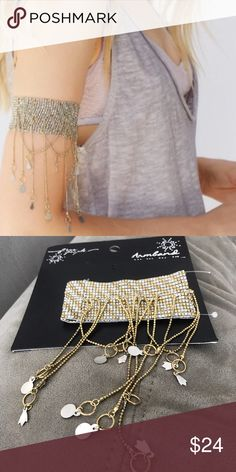 NWT free people cascades upper arm band 🚫NO TRADES Free People Jewelry