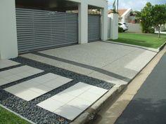 decorative concrete driveway   Residential Landscape   Pinterest ...