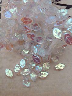 Sale Suppliesglass beadczech glass by SeasideJewelry1 on Etsy