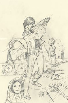 Rebel Heist 4 Adam Hughes Sketch Variant