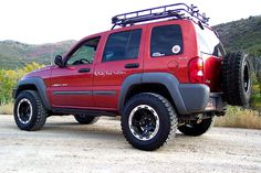 We've been designing Jeep Liberty lift kits since 2002 and have more experience than any other company. Our Rockfather suspension system provides the best ride quality and handling out of any Jeep Liberty lift kit on the market. Jeep Liberty Lifted, 2006 Jeep Liberty, Jeep Cherokee, Jeep Liberty Renegade, Orange Jeep, Jeep Cars, Jeep Jeep, 2012 Jeep, Black Jeep