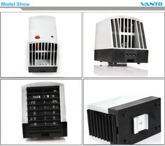 CR 027 PTC Fan Heater Semiconductor Heater Cabinet Heater Enclosure Heater  Model Show