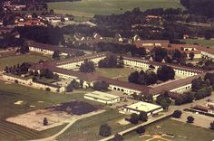 ✅ The former SS-Junkerschule Bad Tölz, an officers' training school for the Waffen-SS, built 1936, after 1945 the Flint Barracks for the US-Army until 1991, today civil usage for authorities.