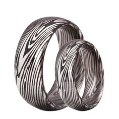Tungsten Ring Classic Damascus Steel Wedding Engagement Jewelry For Men Women Couple Tattoos Unique Meaningful, Couple Tattoos Love, Engagement Bands, Engagement Jewelry, Wedding Engagement, Matching Couple Bracelets, Matching Couples, Damascus Steel, Promise Rings For Couples