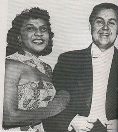 Jussi Bjorling and Marian Anderson