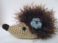 Hedgehog Crochet Amigurumi Pattern