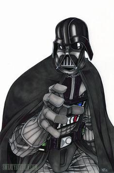 Darth Vader by ~Sweatybuffalo on deviantART