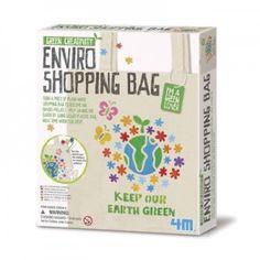 Ontwerp je eigen milieuvriendelijke boodschappentas!