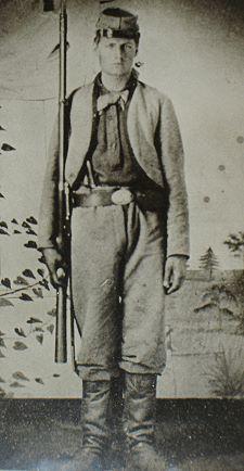 James W. Perry, Company K, 11th Indiana Zouaves