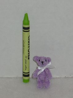 Tiny 1.5 Artist Teddy Bear Plush Handmade by MirageRiverCreations
