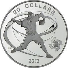 20 Dollar Silber World Baseball Classic - Pitcher PP