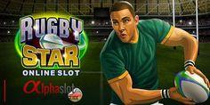 Spieleneuheit von Microgaming: Rugby Star! #Rugby #Microgaming #Onlineslots