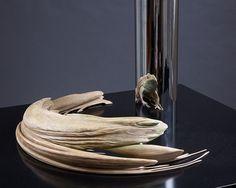 Kiss of Chytrid - 2009-2010   Resin, Powder and Steel by Jonty Hurwirtz
