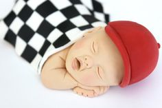 Race Car Baby Cake Topper