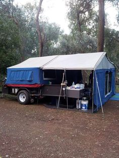 Camper Hire - MDC Camper Trailer $80 per day 6/8 berth (VIC/Melb SE) Caravan and Camping Hire Aus