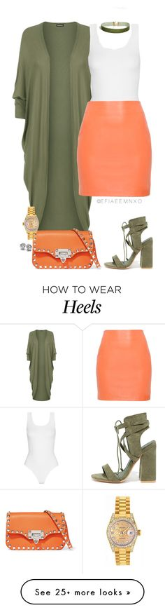 """Cheers"" by efiaeemnxo on Polyvore featuring ASOS, WearAll, Yummie by Heather Thomson, So Me, Valentino, Rolex, sbemnxo and styledbyemnxo"