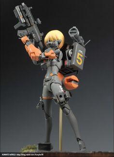 ( *`ω´) ιf you dᎾℕ't lιkє Ꮗhat you sєє❤, plєᎯsє bє kιnd Ꭿℕd just movє ᎯlᎾng. Dummy Doll, Battle City, Character Art, Character Design, Woman Mechanic, Sci Fi Anime, Frame Arms Girl, Fantasy Model, Female Armor