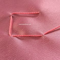 Canadian smocking tutorials step by step pictures - jasmine flowers in lattice mesh